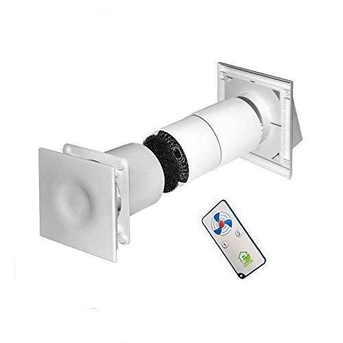 SALVATORE IL RECUPERATORE DI CALORE monostanza con telecomando Ø125 - ventilazione meccanica controllata
