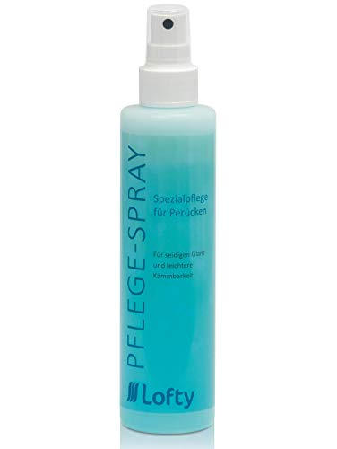 Lofty Spezial Pflege-Spray Perückenpflege, 200 ml, angenehmer Duft, sparsame Anwendung, unverzichtbar für gepflegtes Aussehen und längeren Halt der Perücke