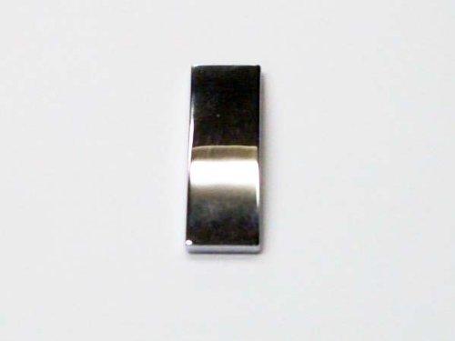Preisvergleich Produktbild - Optik Chrome Buchstabe I Aufkleber Badge-wird mit selbstklebenden Rückseite
