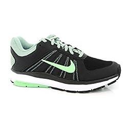 Nike Womens Black-Grnglw Running Shoes - 6.5 UK/India (40.5 EU)(7.5 US)