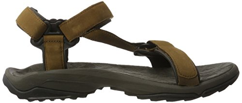 Teva Terra Fi Lite Leather Ms, Sandales de Randonnée Homme Marron (Brown)