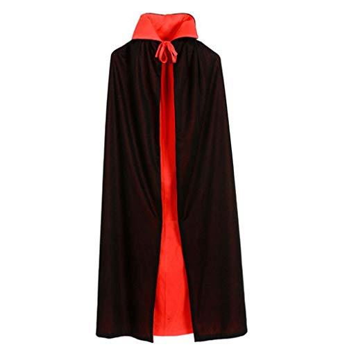 Tinaa Kapuzenpullover, doppelseitig, lang, Cape, Kragen, Halloween, Vampir, Cosplay, Kostüm, Halloween - Kostüm De Vampir Pour Halloween