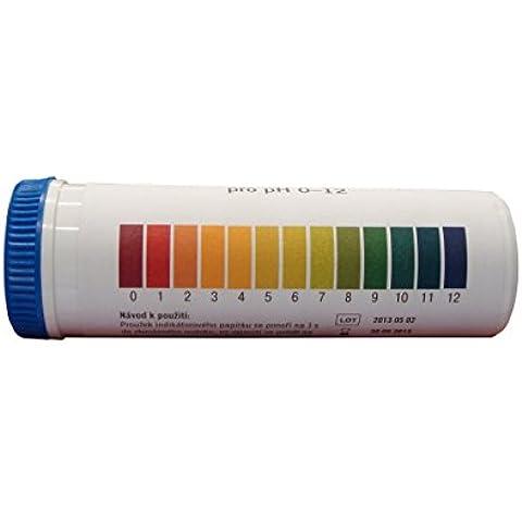 Cartine indicatrici universali pH 0-12 - 100 strisce