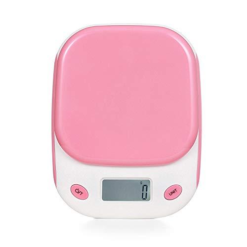 DuDuDu Slim ménage Balance numérique de Cuisine Cuisson Alimentaire Alimentation grammes électronique Solde Banc de Musculation pesant-Cuisson échelle 5 KG/11 LB 1g
