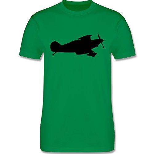 Andere Fahrzeuge - Flugzeug - Herren Premium T-Shirt Grün