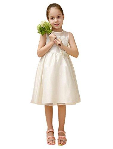 wxj-jeunes-filles-blanc-tour-de-taille-broderie-fleurs-danse-robe-chaise-jupe-100cm