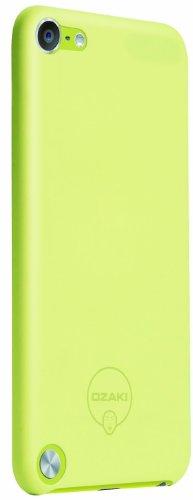 Ozaki O!Coat 0.4 Solid Schutzhülle für Apple iPod touch 5G in gelb [Ultra dünn | Extrem leicht | Inkl. Displayschutzfolie | Kompatibel mit Handschlaufe] - OC611YL - Handschlaufe 5 Ipod Touch