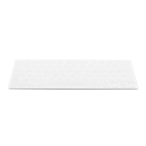 kwmobile Protección de silicona para teclado QWERTY (España) para Apple MacBook Air 13''/ Pro Retina 13''/ Pro Retina 15'' transparente