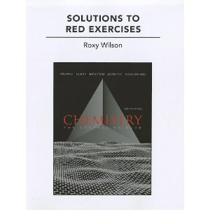 Solutions to Red Exercises for Chemistry: The Central Science 12th (Twelveth) Edition