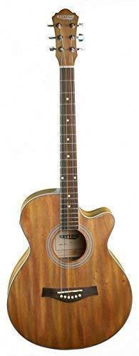 KEYTONE Jumbo acústica/Guitarra Western Brush Mate con pastilla