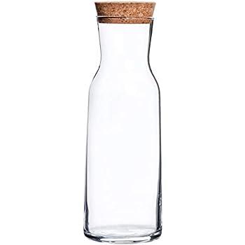 KARAFFE mit Stöpsel Wasserkaraffe Glaskaraffe Dekanter Weinkaraffe 0,25 L