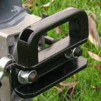 STAHLMANN® Holzspalter 7 Tonnen / 520mm liegend (inkl. Spaltkreuz und Tisch!) mit stufenlos verstellbaren Spaltweg bis max. 520 mm! TÜV/CE zertifiziert! - 4