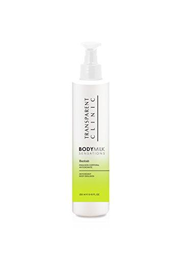 Transparent Clinic - Body Milk Sensations - Emulsion Corporelle antioxydant Baobab - 250 ml
