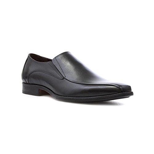 Lotus Mens Black Leather Slip On Shoe - Size 10 UK -...