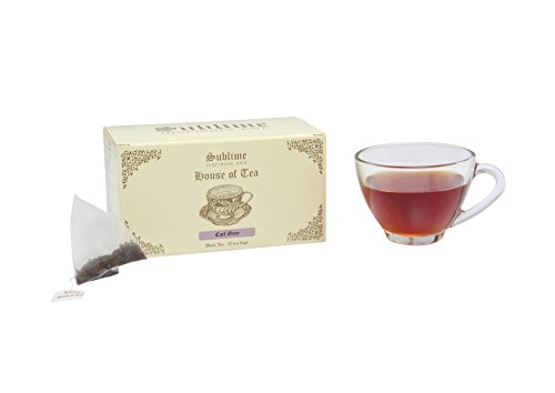 Sublime House Of Tea-earl Grey (25 Pyramid Tea Bags)