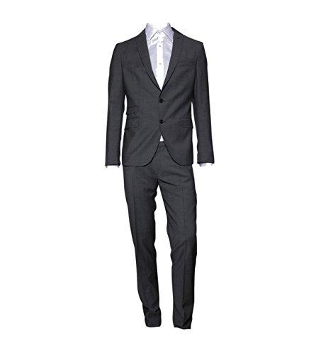 drykorn anzug herren Drykorn Herren Anzug H-Genf aus Wolltuch Grey 6 Grey 48