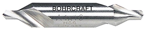 Bohrcraft Zentrierbohrer DIN 333 Form A 60 Grad HSS, 2,0 mm in QuadroPack, 1 Stück, 16000300200