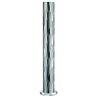 Trio Stehleuchte Stehlampe, H=120 cm, Ø=15 cm, Chrom/Glas galvanisiert von Trio bei Lampenhans.de