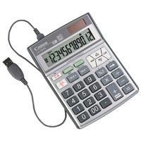 Canon LS-120PC Taschenrechner 12-stelliges Display USB-Anschluss Steuerberechnungsfunktion