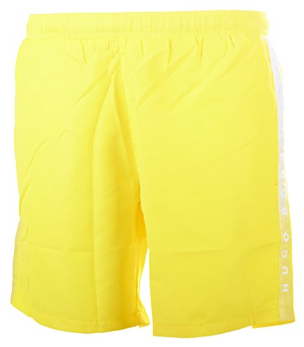 BOSS Hugo Boss Herren Badeshorts Seabream Gelb (Bright Yellow 732)