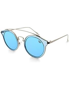 Gafas de sol mujer MOSCA NEGRA ® modelo BIG GLAM BLUE espejo - Polarized