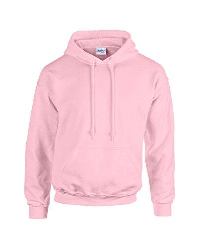 Gildan Gilden Kapuzen-Sweatshirt für Erwachsene  Herren Damen Heavy Blend Pullover Hoodie Gr. XL, rose - Gildan Hoodie Sweatshirt