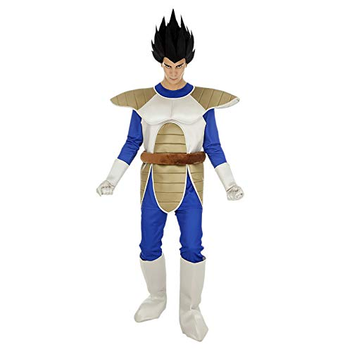 Chaks Dragon Ball Vegeta-Herrenkostüm Lizenz-Verkleidung bunt - Dragon Ball Z Cell Kostüm