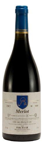 Merlot-Pays-dOc-2002-Trockener-koscherer-Rotwein-aus-Languedoc-Roussillion-im-Sden-Frankreichs-Mewushal