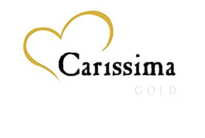 Carissima Gold 9 ct Rose Gold Curb Chain of Length 46 cm/18 inch
