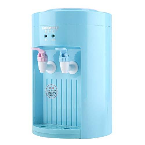 Zerodis 220V 5L Mini dispensador de Agua Refrigerador de Agua eléctrico Máquina de Bebida de Agua fría Caliente para Uso de la Oficina, casa (Blue)