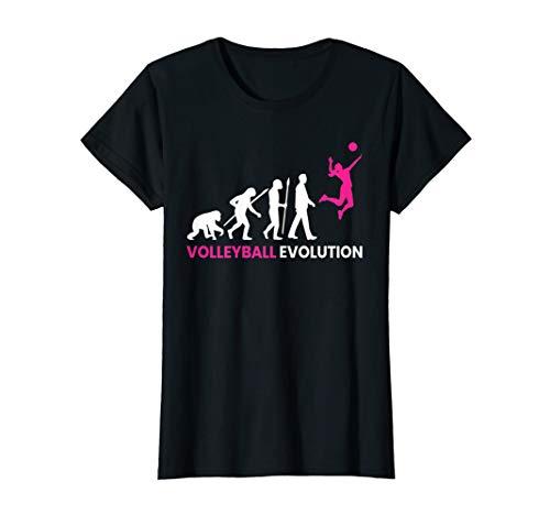 Damen Volleyball Evolution #1 T-Shirt | Beachvolleyball Frauen