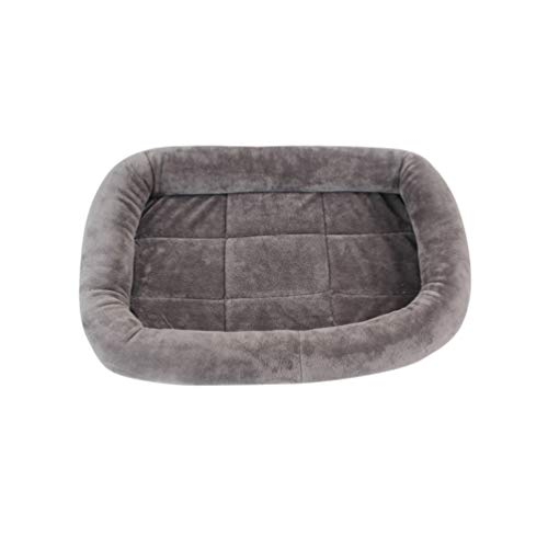 Hongma Waschbare Haustier Katze Hund Kissen Matte Pad Bette Size S (Grau(Kurzes Haar))