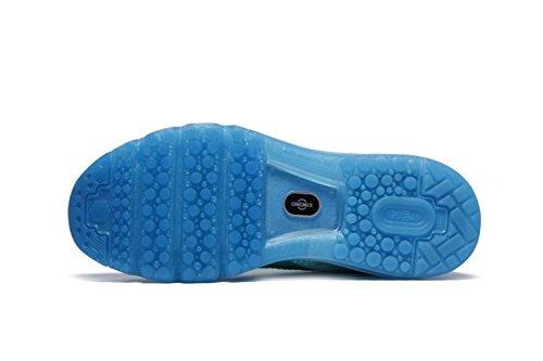 Chaussures de sport Les chaussures amortissent chaussures de course chaussures d'été dames chaussures casual amorti respirant léger Bleu
