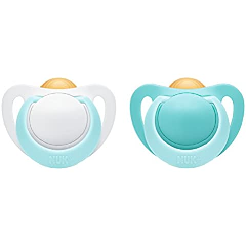 NUK GENIUS latex soother, assorted by colour