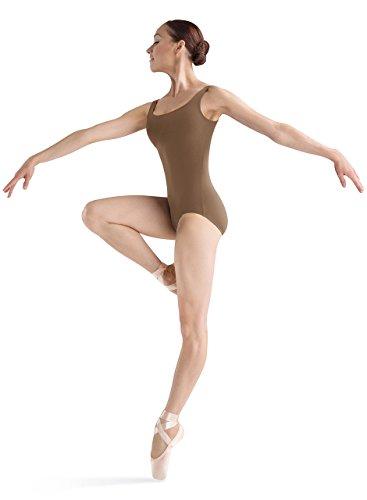 Bloch Dance Damen Gymnastikanzug Faire Microlux, Damen, Almond, Petite
