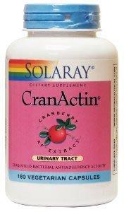 Solaray Cranactin Cranberry Capsule - Pack of 60 from Solaray