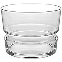 BORGONOVO Juego 6Vasos Brera T220de 22Cl de Scotch Vaso Whisky