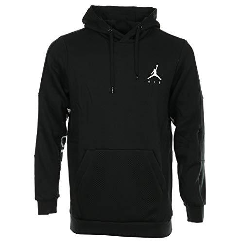 Nike Herren Jumpman HYBRID PO Jacke, Black/White, L Air Jordan Hoodie