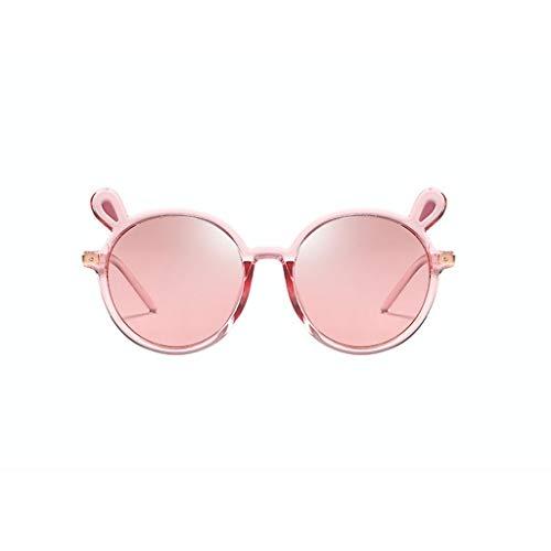 Polarisierte Sonnenbrille für Kinder UV400-Schutz Leichte, langlebige Fassung Polarisierte Brillen Kinderbrillen (Color : Red)
