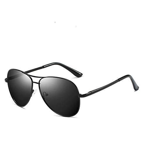 Jiaxingo 2Packs Polarized Classic Aviator Sonnenbrille für Männer und Frauen 100% UV-Schutz Shades Verspiegelte Linse Metallrahmen mit Federscharnieren