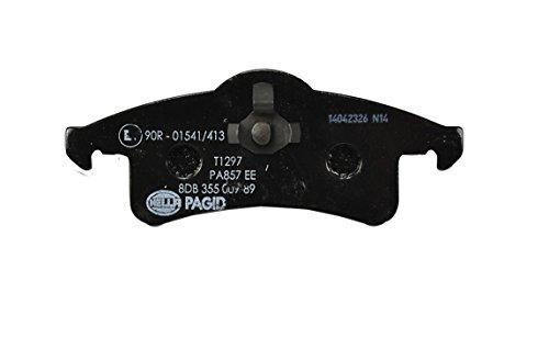 HELLA PAGID 8DB 355 009-891 Kit pastiglie freno, Freno a disco, Assale posteriore