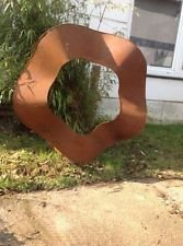 Zen - Escultura decorativa metálica jardín