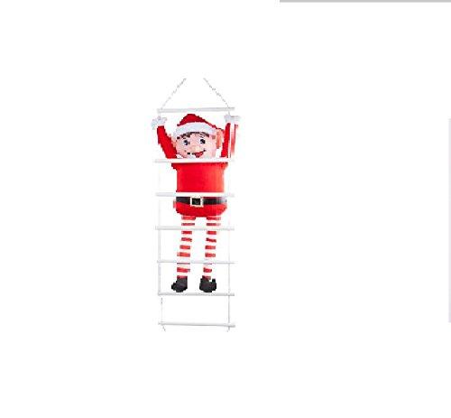 Elves Behaving Badly Weihnachtself Ladder - hängende Weihnachtsdekoration