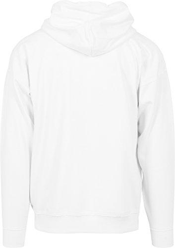 Urban Classics Herren Kapuzenpullover Oversized Sweat Hoody Weiß (white 220 )-