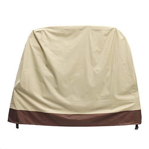 King do way cover per barbecue, telo copri barbecue impermeabile copertura per barbecue bbq copri griglia per bbq beige in muratura a cupola multi-size beige