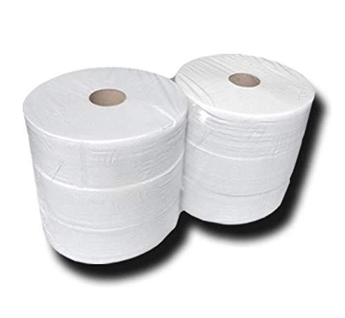 Palette Toilettenpapier-Jumborollen, Jumbo Toilettenpapier, Klopapierrollen, 2 lagig, Zellstoff, ca. 26cmx360m, 264 Stk - Jumbo-rollen