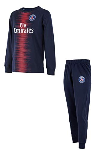 PARIS SAINT GERMAIN Pyjama Fly Emirates PSG - Collection Officielle Taille Enfant PARIS SAINT GERMAIN