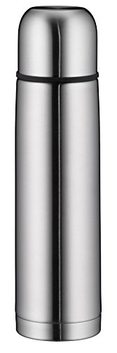 Alfi 5457.205.075 Isolierflasche Isotherm Eco, Edelstahl (0,75 Liter), mattiert