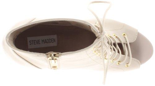 Steve Madden Volentieri Dress Bootie Bone Leather
