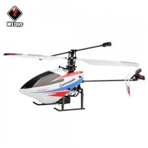 Wltoys V911-pro V911-V2 4 Channel 2.4GHz Gyroscope RC Helicopter Black & Red (Mode 2)